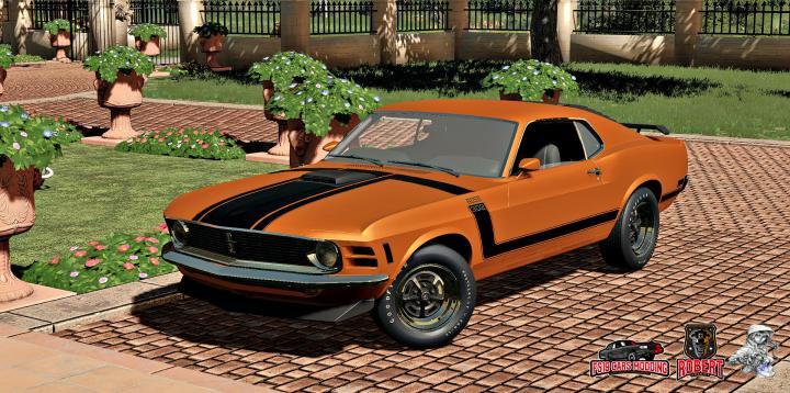 FS19 - Ford Mustang Boss 302 V1