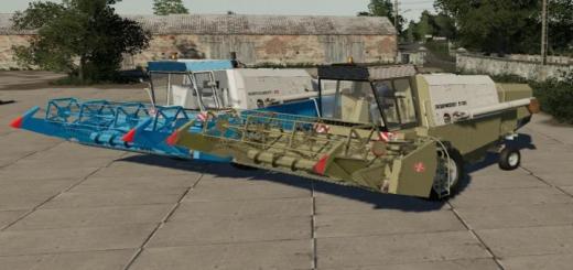 Photo of FS19 – Fortschritt E512 Harvester Pack V1