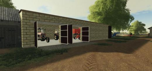Photo of FS19 – Garage For The Combine V1
