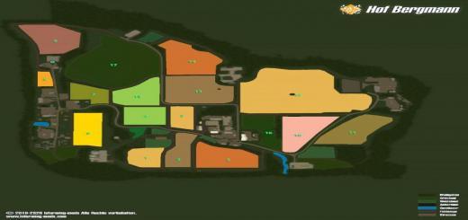 Photo of FS19 – Hof Bergmann Map (Eng, Ger, Rus, Pol) V1.0.0.7