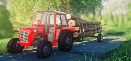 Photo of FS19 – Homemade Forest Trailer V1.1