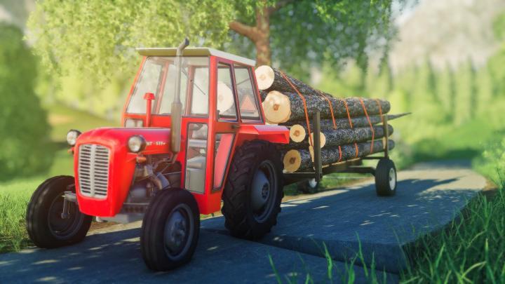 FS19 - Homemade Forest Trailer V1.1