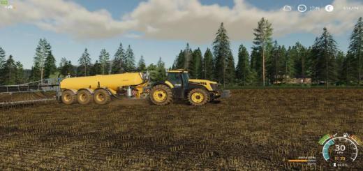 Photo of FS19 – Jcb Fast Trac 8000 Tractor