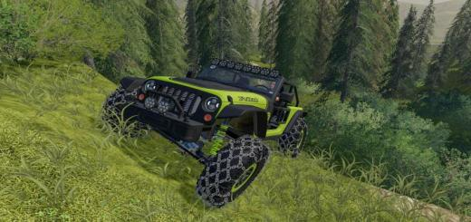 Photo of FS19 – Jeep Trailcat 2017 V1