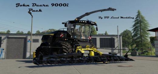 Photo of FS19 – John Deere 9000I Pack V1