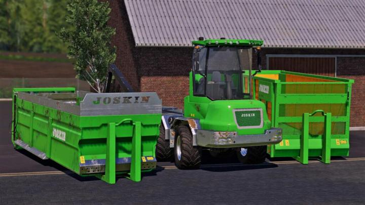 FS19 - Joskin Cargo Track Pack V1
