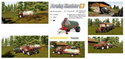 Photo of FS19 – Kirchner T6000 V1