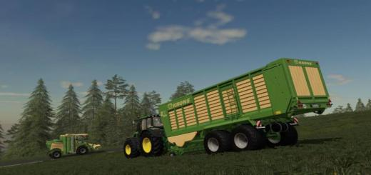 Photo of FS19 – Krone Zx 470 Gd Trailer V1