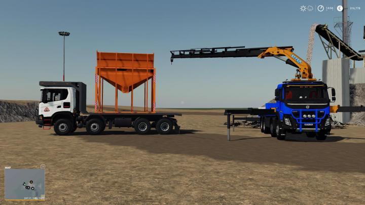 FS19 - Loading Silo For Conveyor V1