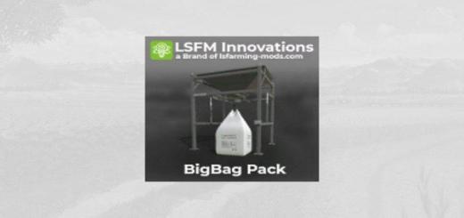 Photo of FS19 – Lsfm Bigbag Pack V1.0.0.1