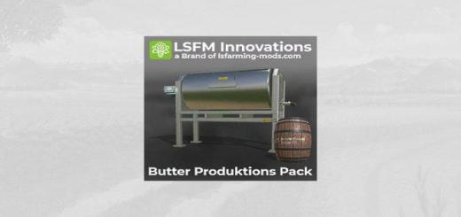 Photo of FS19 – Lsfm Butter Produktions Pack V1