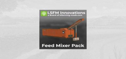 Photo of FS19 – Lsfm Feed Mixer Pack V1