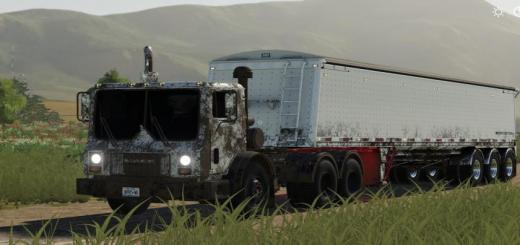 Photo of FS19 – Mack Mr688S Daycab Semi V1