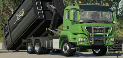 Photo of FS19 – Man Tgs 26.500 Itrunner V1.2