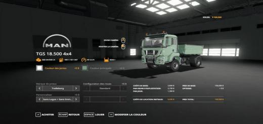Photo of FS19 – Man Tgs18500 Tipper V1