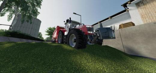Photo of FS19 – Massey Ferguson 7700 Tractor V1