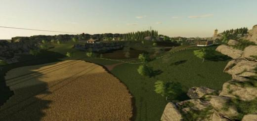 Photo of FS19 – Meadow Valley Map V1.1