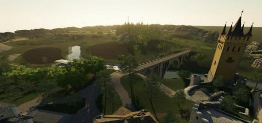 Photo of FS19 – Meadow Valley Map V1
