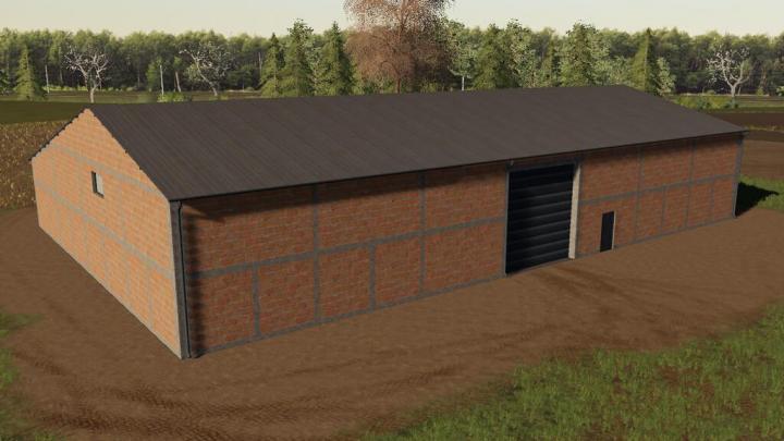FS19 - Medium Garage With Shelter V1