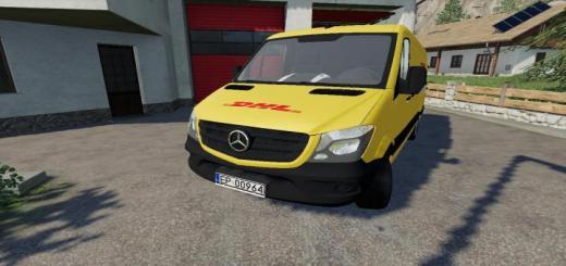 Photo of FS19 – Mercedes-Benz Sprinter Kurier Dhl V2