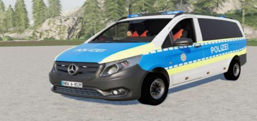 Photo of FS19 – Mercedes-Benz Vito (W447) Police V2