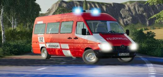 Photo of FS19 – Mercedes Sprinter W904 Fire Brigade And Civil V1.1