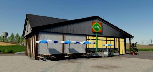 Photo of FS19 – Mini Supermarket V1