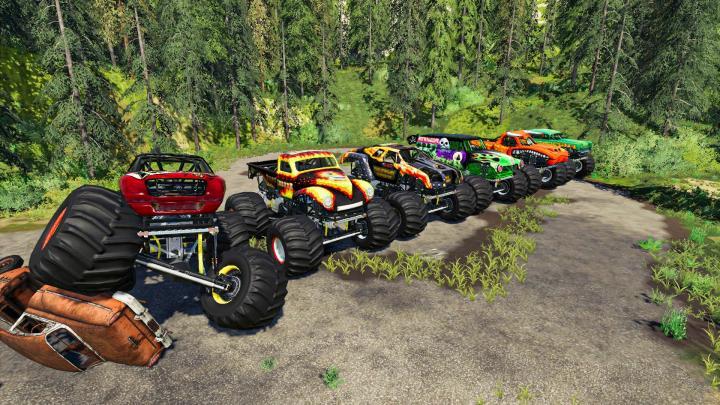 FS19 - Monster Truck Pack V1