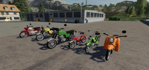 Photo of FS19 – Motorcycle Pack V1