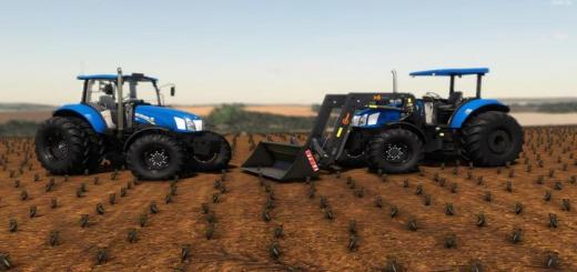 Photo of FS19 – New Holland T6110 / 130 V1