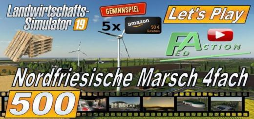 Photo of FS19 – North Frisian March 4X Without Trenches V2.4