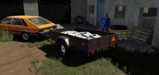 Photo of FS19 – Old Lizard Car Trailer V1.1