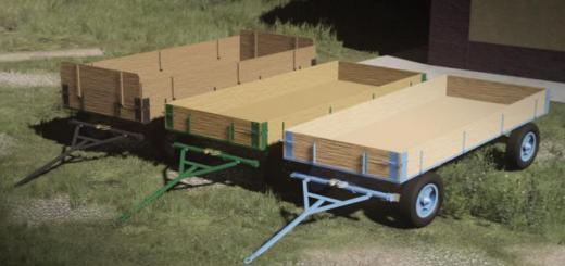 Photo of FS19 – Old Wooden Trailer V1