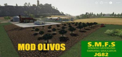 Photo of FS19 – Olive Tree Pack V1.2