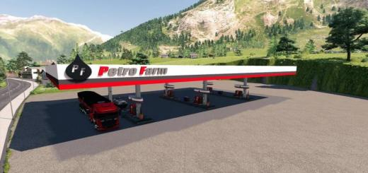 Photo of FS19 – Petro Farm Gas Station V1