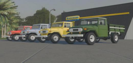 Photo of FS19 – Pickup 1969 Brazil V1.1