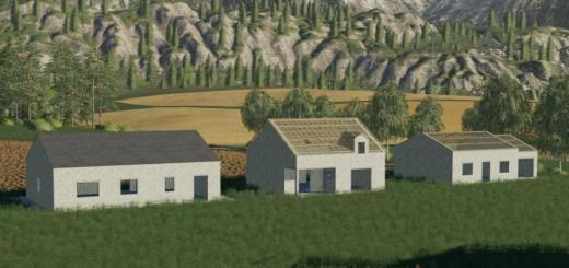 Photo of FS19 – Placeable Constructions Houses V1