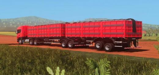 Photo of FS19 – Randon Bitrem Short Bulk Carrier Randon Line R V1.0.1.0