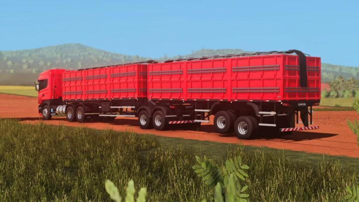 FS19 - Randon Bitrem Short Bulk Carrier Randon Line R V1.0.1.0
