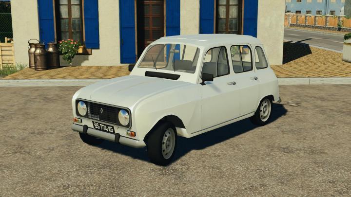 FS19 - Renault 4L V1