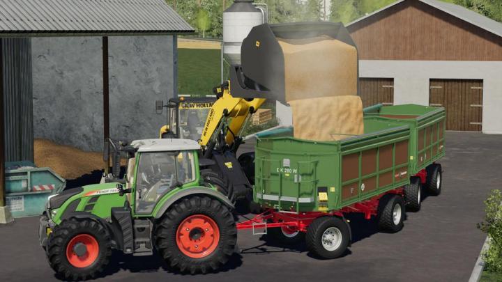 FS19 - Reschke High-Dump Bucket V1.0.0.2