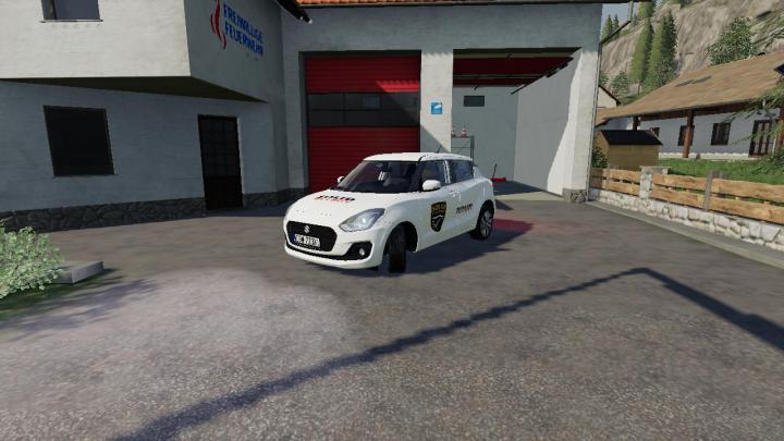 FS19 - Samochod Ochrony Solid Security V2