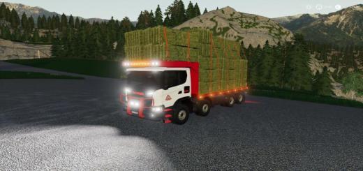 Photo of FS19 – Scania Xt 8X8 Flat Bed V1