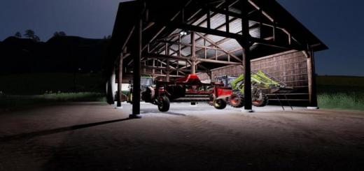 Photo of FS19 – Small Hangar In Traditional Style V1