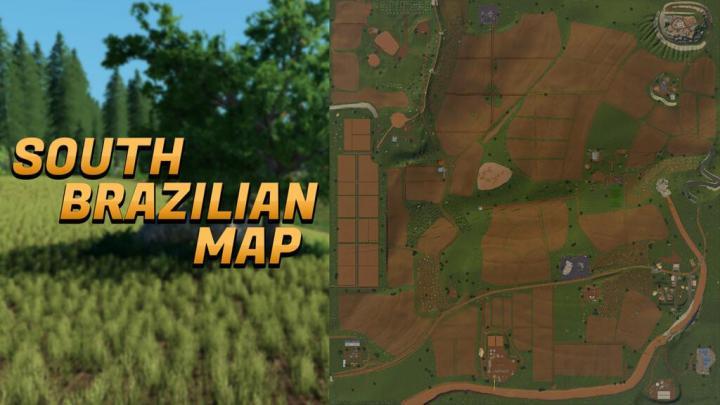 FS19 - South Brazilian Map V1