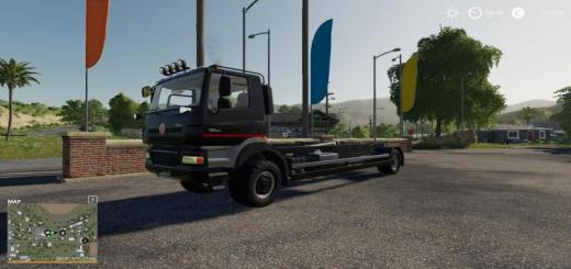 Photo of FS19 – Tatra Phoenix T158 8X8 Hooklift V3