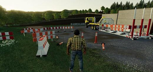 Photo of FS19 – Traffic Warning Signs V3