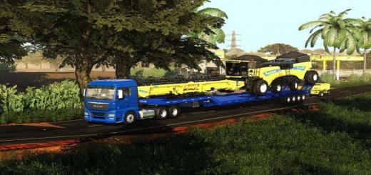 Photo of FS19 – Transport Trailer 25M V1