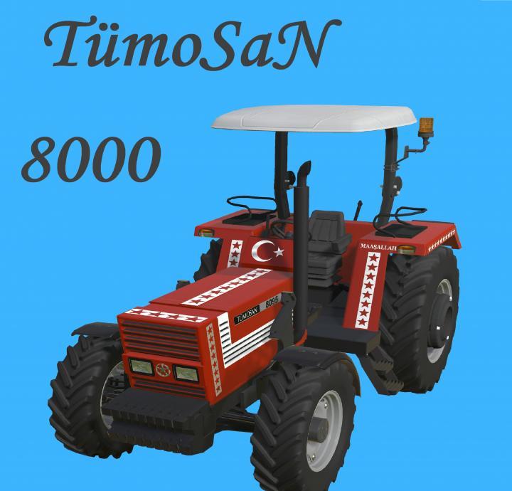 FS19 - Tumosan 8000 Tenteli Classic V1