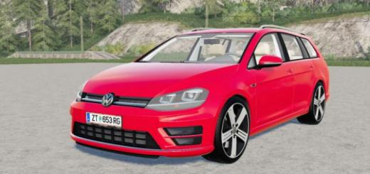 Photo of FS19 – Volkswagen Golf R Variant (Typ 5G) 2015 V3